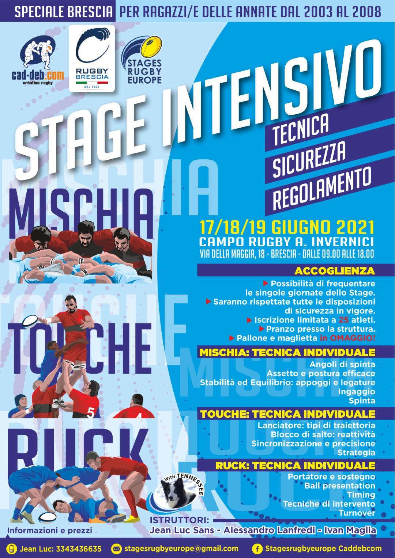 Stage Mischia Ruck Touche_Brescia