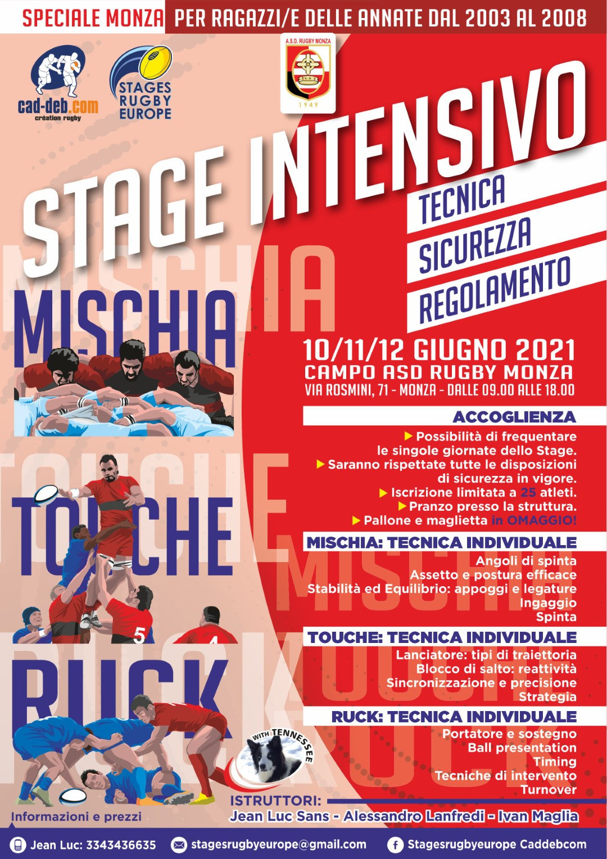 Stage Mischia Ruck Touche_MONZA